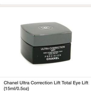 New CHANEL Ultra correction lift eye cream